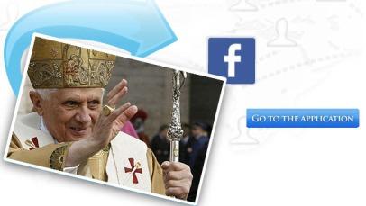 Римский Папа Бенедикт XVI в социальных сетях